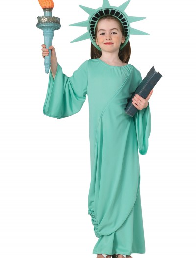 Child Statue of Liberty Costume