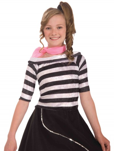 Child Striped Sock Hop Top