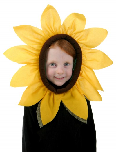 Child Sunflower Hood