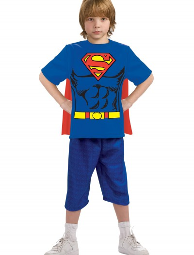 Child Superman Costume T-Shirt