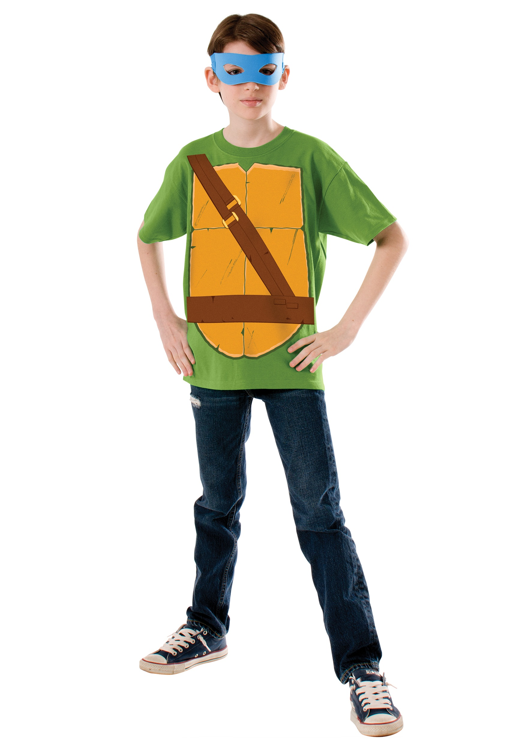 Child TMNT Leonardo Costume Top
