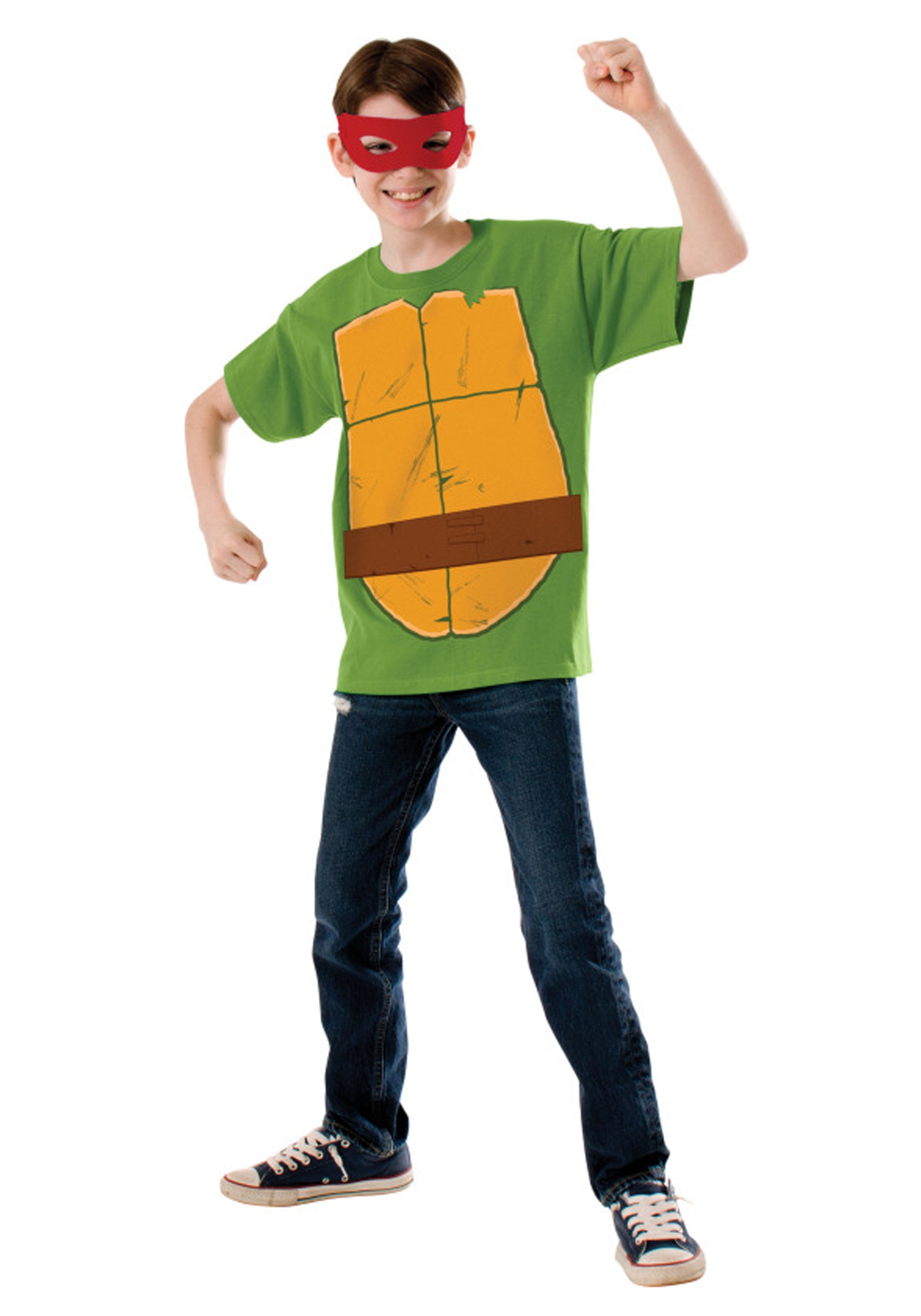 Child TMNT Raphael Costume Top