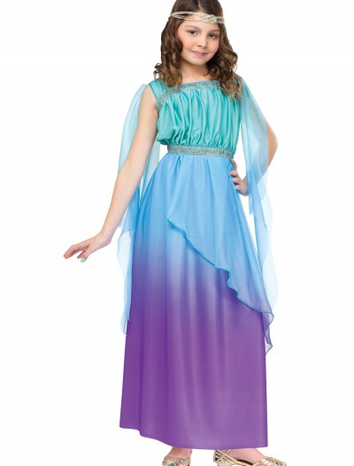 Child Tricolor Ombre Goddess Costume