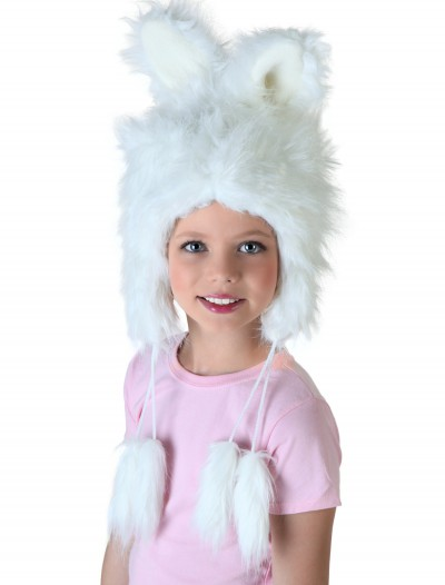 Child White Rabbit Hat