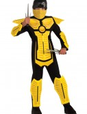 Child Yellow Ninja Costume