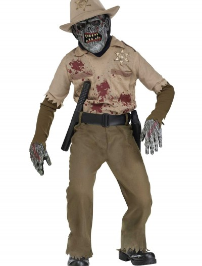 Child Zombie Sheriff Costume