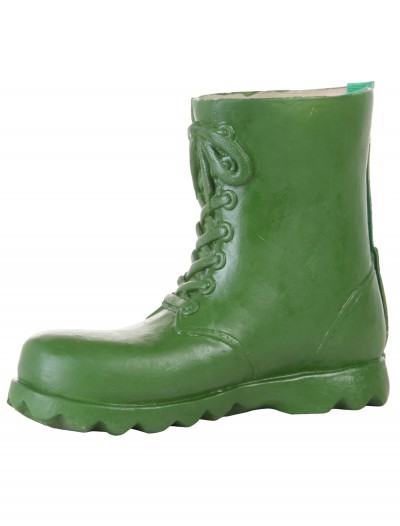 Children's Green Latex Boot Covers