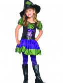 Colorful Child Witch Costume