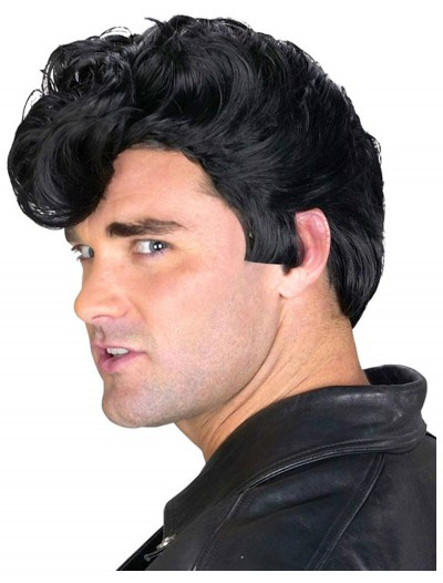 Mens 50s Greaser Wig