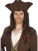 Dark Brown Pirate Hat