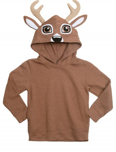 Deer Face Animal Hoodie