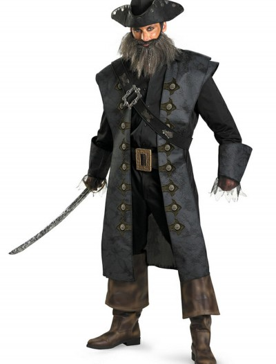 Deluxe Adult Blackbeard Costume