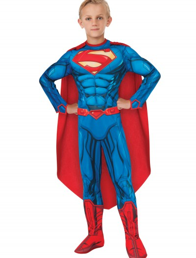 Deluxe Child Superman Costume