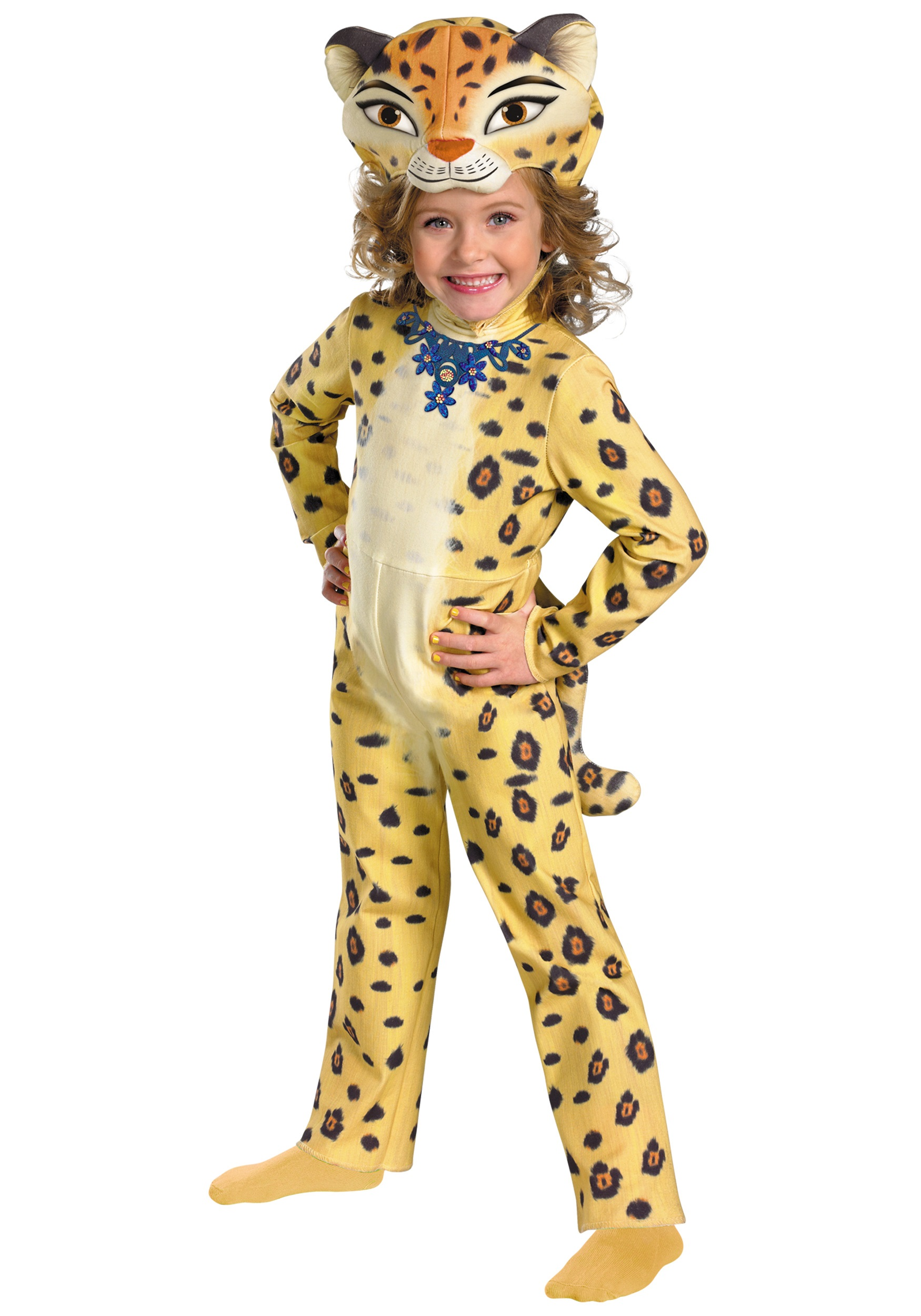Deluxe Gia the Leopard Costume