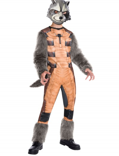 Deluxe Kids Rocket Raccoon Costume