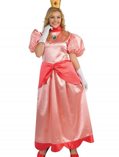 Deluxe Princess Peach Plus Size Costume