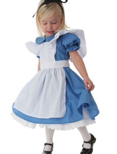 Deluxe Toddler Alice Costume