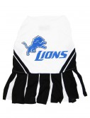 Detroit Lions Cheerleader Dog Costume