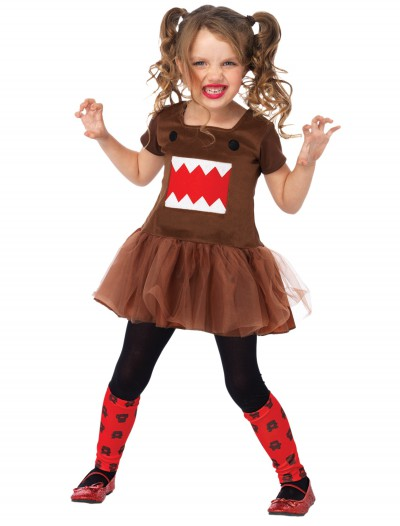 Domo Brown Tutu Child Dress