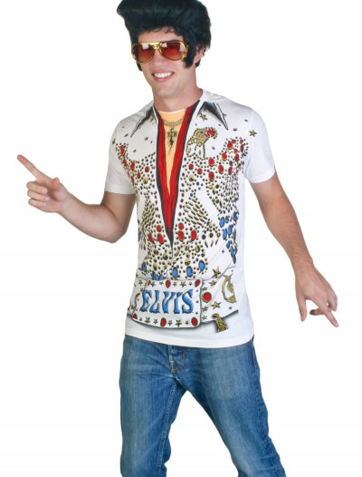 Elvis Presley Eagle Jumpsuit Costume T-Shirt