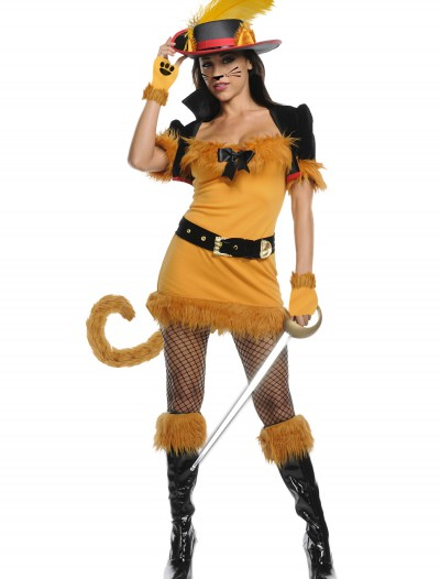 Exclusive Sexy Feline Musketeer Costume