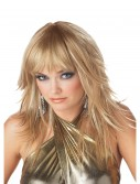 Feathered and Flirty Blonde Wig