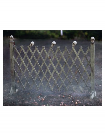 Fence With Skulls
