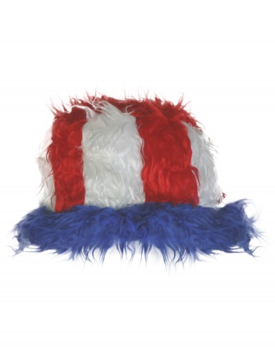 Furry 4th of July Hat