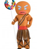 Gingerbread Man Warrior Costume