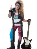 Girls 80s Glam Rocker Costume