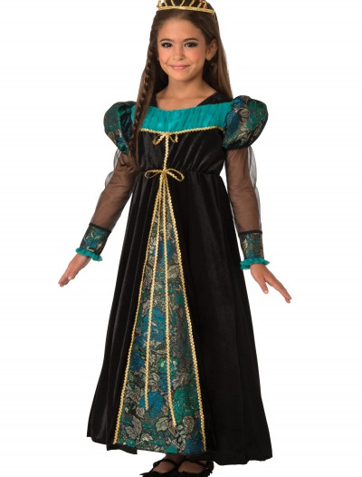 Girls Black Camelot Princess Costume