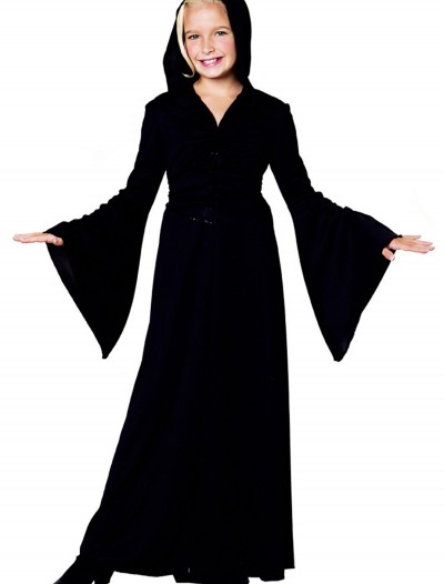Girls Black Robe