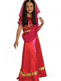 Girls Bollywood Princess Costume