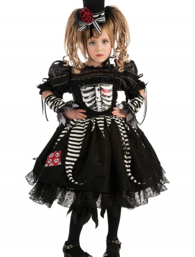 Girls Bones Costume
