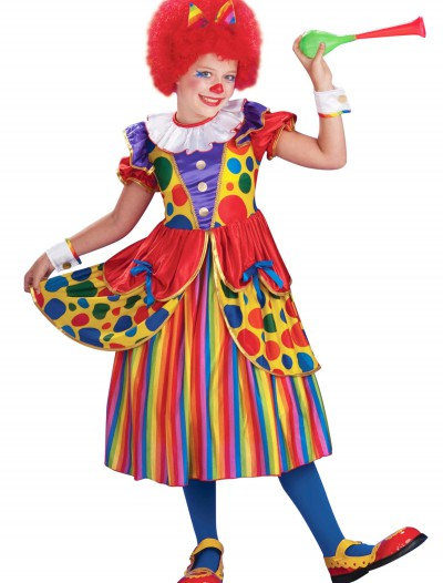 Girls Clown Princess Costume