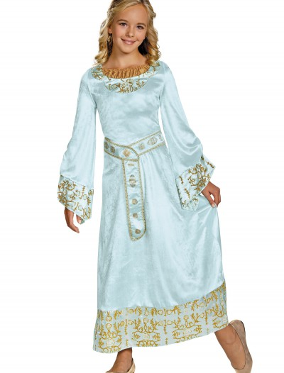 Girls Deluxe Aurora Blue Dress Costume