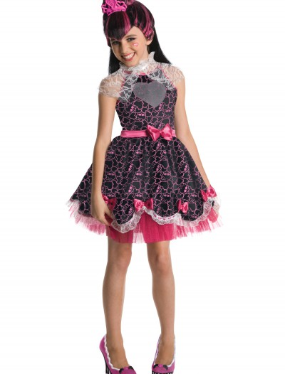 Girls Draculaura Sweet 1600 Costume