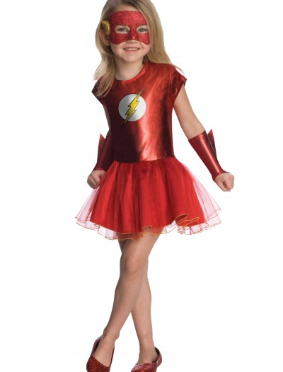 Girls Flash Tutu Costume