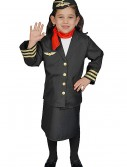 Girls Flight Attendant Costume