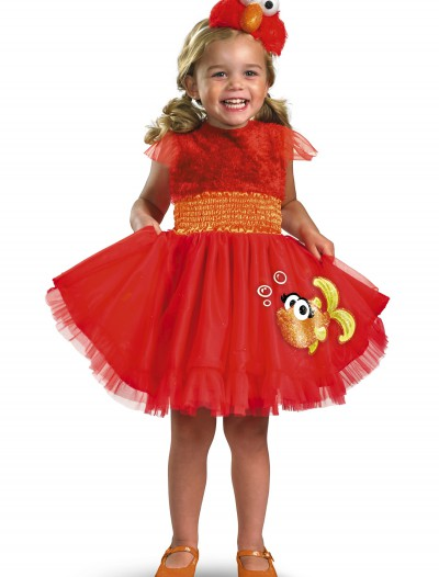 Girls Frilly Elmo Costume
