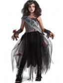 Girls Goth Prom Queen Costume