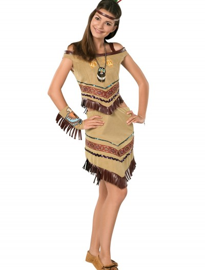 Girls Indian Teen Costume