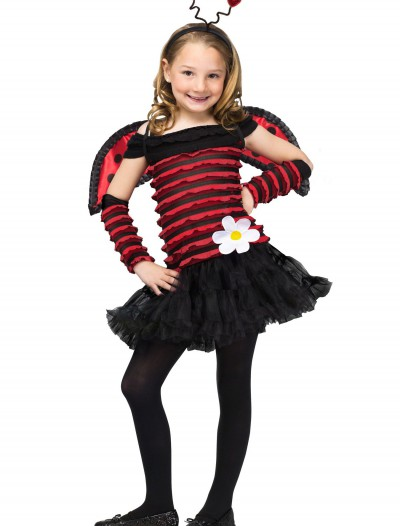 Girls Little Lady Bug Costume