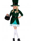 Girls Lucky Leprechaun Costume