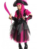 Girls Pink Caribbean Pirate Costume