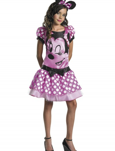 Girls Pink Minnie Mouse Costume