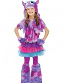 Girls Polka Dot Monster Costume