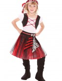 Girls Punky Pirate Costume