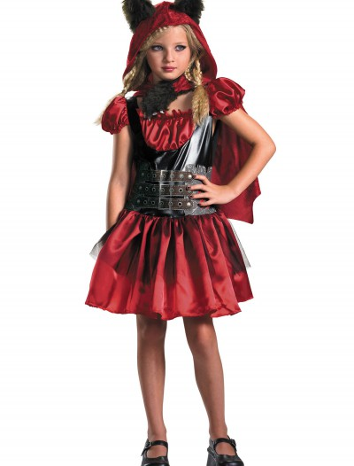 Girls Red Riding Rage Costume