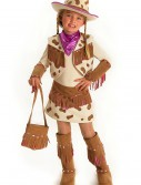 Girls Rhinestone Cowgirl Costume